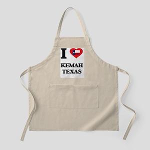 I love Kemah Texas Apron