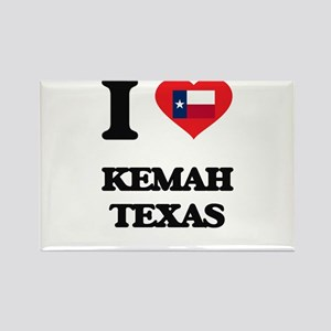 I love Kemah Texas Magnets