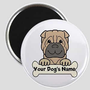 Personalized Shar-Pei Magnet