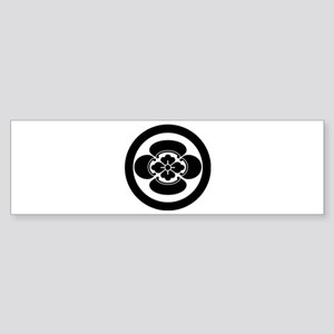 Mokko in a circle Bumper Sticker