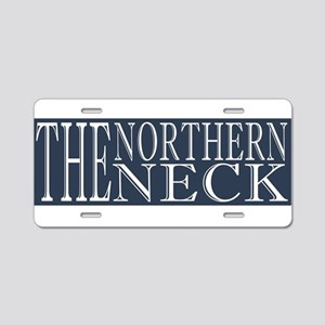 Northern Neck Aluminum License Plate