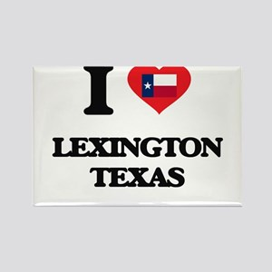 I love Lexington Texas Magnets