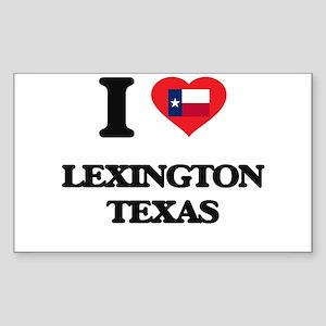 I love Lexington Texas Sticker