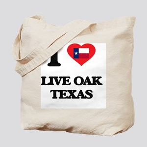 I love Live Oak Texas Tote Bag