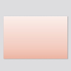 Pastel Pink ombre Postcards (Package of 8)