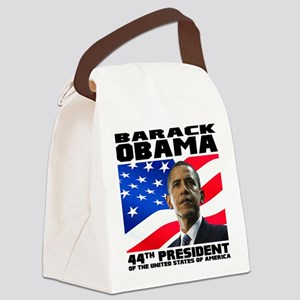 44 Obama Canvas Lunch Bag