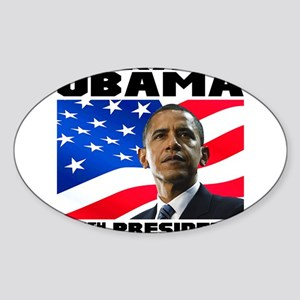 44 Obama Sticker (Oval)