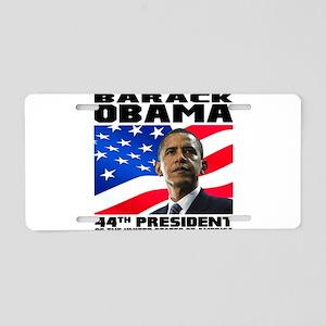 44 Obama Aluminum License Plate