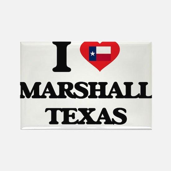 I love Marshall Texas Magnets