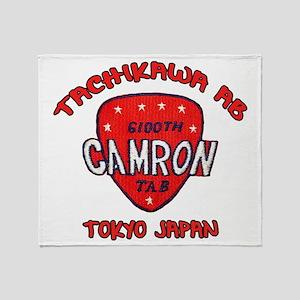camron TAB tachikawa air base Throw Blanket