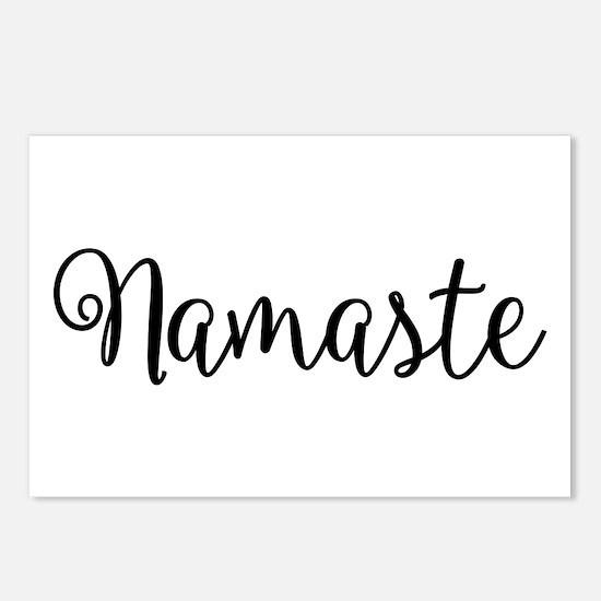 Namaste Script Postcards (Package of 8)