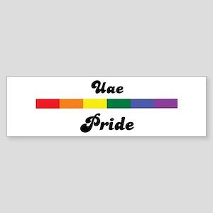 Uae pride Bumper Sticker