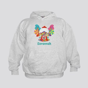 Custom Name Candyland Birthday Hoodie