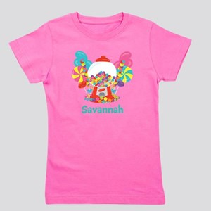 Custom Name Candyland Birthday Girl's Tee
