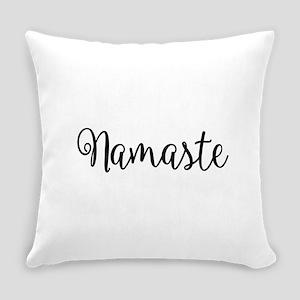 Namaste Script Everyday Pillow