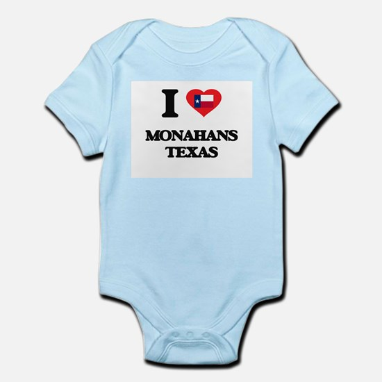 I love Monahans Texas Body Suit