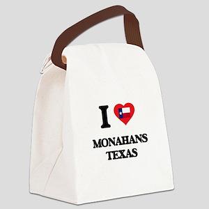 I love Monahans Texas Canvas Lunch Bag