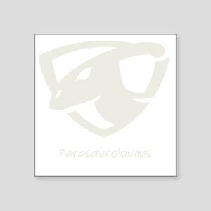 """Parasaurolophus Square Sticker 3"""" x 3"""""""