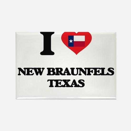 I love New Braunfels Texas Magnets