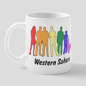 Western Sahara diversity Mug
