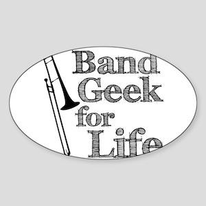 Trombone Band Geek Sticker