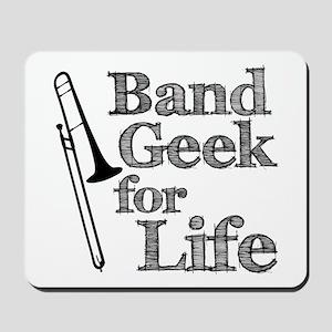 Trombone Band Geek Mousepad