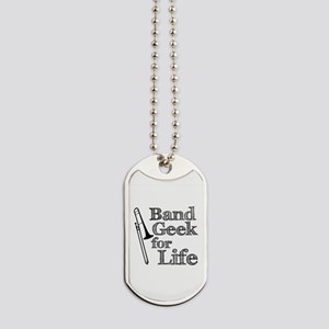 Trombone Band Geek Dog Tags