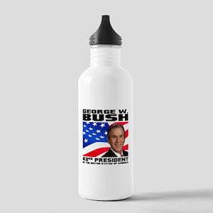 43 GW Bush Stainless Water Bottle 1.0L