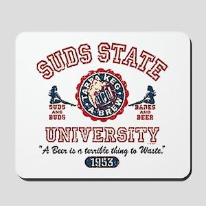 Suds State University Mousepad