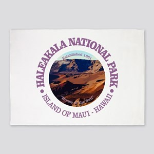 Haleakala National Park 5'x7'Area Rug