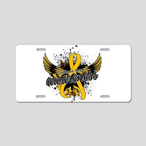 Childhood Cancer Awareness Aluminum License Plate