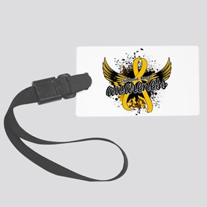 Childhood Cancer Awareness 16 Large Luggage Tag
