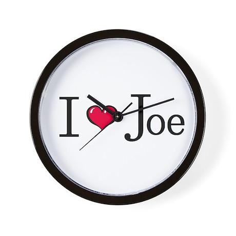 """I LOVE Joe Jonas"" clock!"