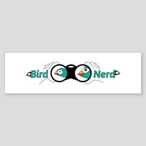 Bird nerd Bumper Sticker