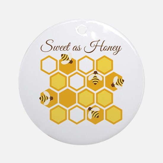 Sweet As Honey Ornament (Round)