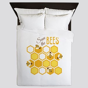 Save The Bees Queen Duvet
