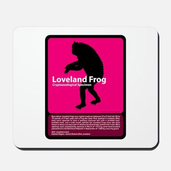 Loveland Frog Mousepad
