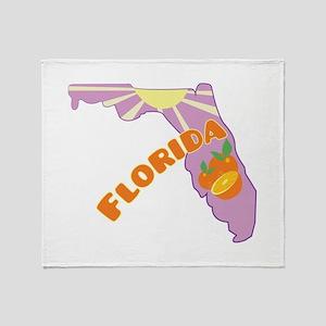 Florida Throw Blanket