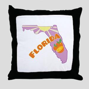 Florida Throw Pillow