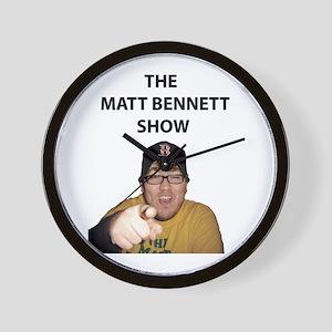Matt Bennett Pointing Finger Wall Clock