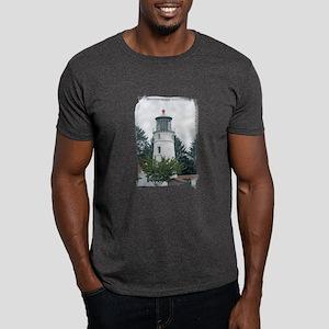 Umpqua River Light with Trees Dark T-Shirt