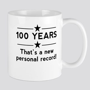 100 Years New Personal Record Mugs