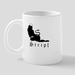 Devil Girl Silhouette Mug