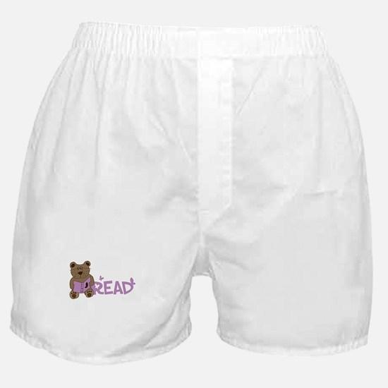 Read bear Boxer Shorts