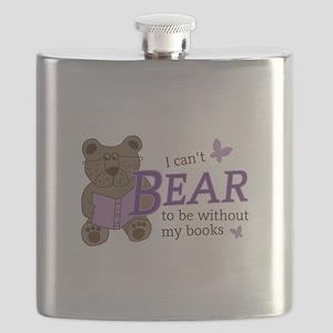 Bear book lover Flask