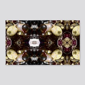 Steampunk Beads Area Rug