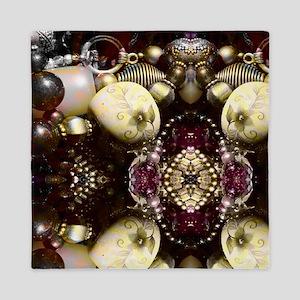 Steampunk Beads Queen Duvet