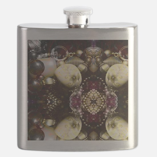 Steampunk Beads Flask