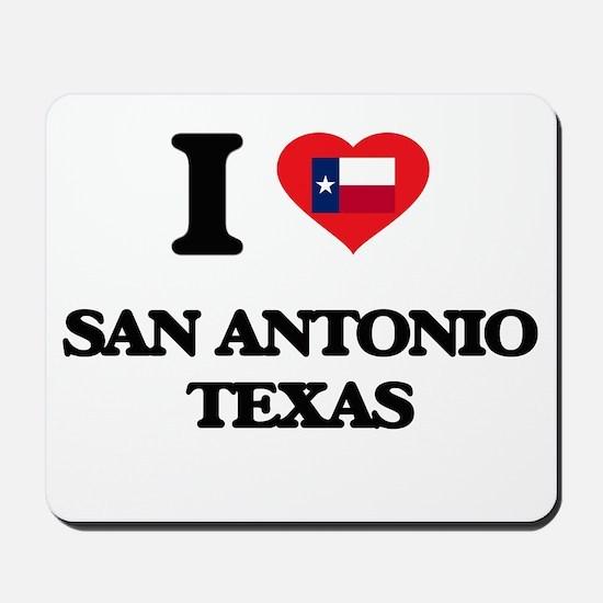 I love San Antonio Texas Mousepad
