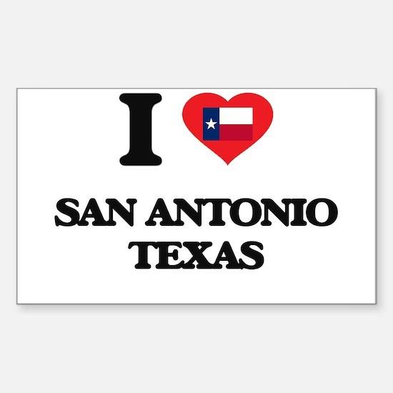I love San Antonio Texas Decal